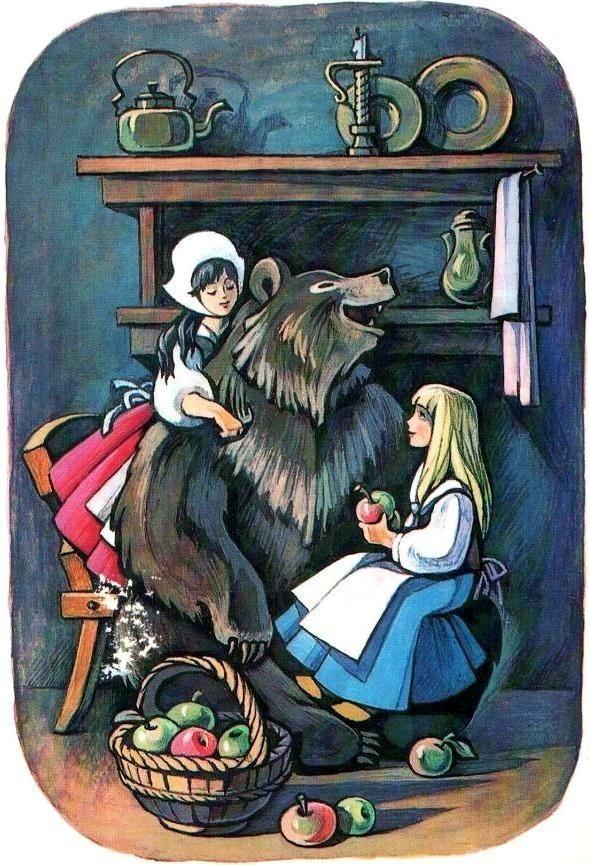 Образы Беляночки и Розочки в одноименной немецкой сказке - Ольга Круцик