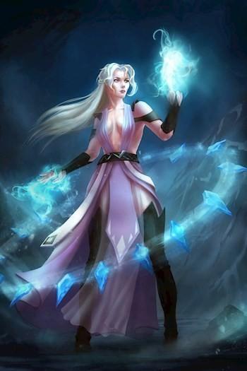 Real-RPG: Ледяное пламя - Angel Delacruz